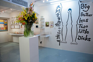 Ten Million Rooms of Yearning. Sex in Hong Kong, installation view