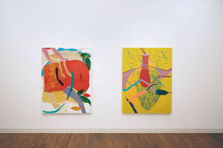 K.R.F. Isabel Kerkermeier, Kaveri Raina and Wolfgang Flad, installation view