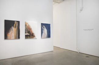 """Suzanne McClelland, """"Selections from Mute"""", installation view"""