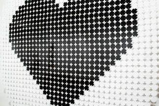 POINT 5 Hand-stitched Works by Kelly Kozma, installation view
