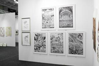 Paradigm Gallery + Studio at Art on Paper New York 2016, installation view