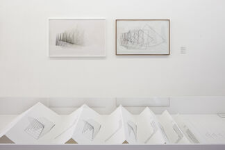 Channa Horwitz COUNTING IN EIGHT, MOVING BY COLOR, installation view