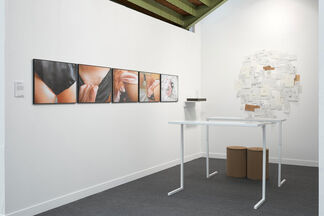 mfc - michèle didier at fiac 17, installation view
