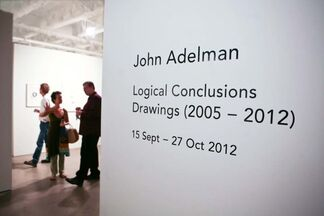 John Adelman: Logical Conclusions, Drawings 2005-2012, installation view