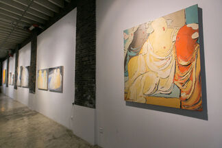 Eccentric Curves - Pang Yongjie Solo Exhibition, installation view