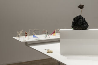 this one is smaller than this one. curated by Paulina Bebecka, installation view