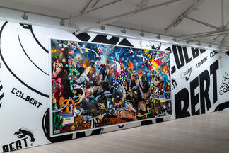 Unit London presents Philip Colbert: Hunt Paintings at Saatchi Gallery, installation view