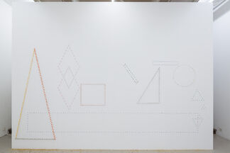 Jacob Dahlgren at Andréhn-Schiptjenko: Painting into Space and the Meaning of Construction, installation view