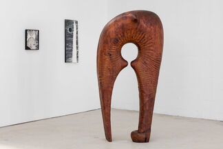 J.B. Blunk: painting, drawing, sculpture, installation view