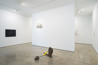 Troy Brauntuch, Andy Coolquitt, Jeff Williams, installation view