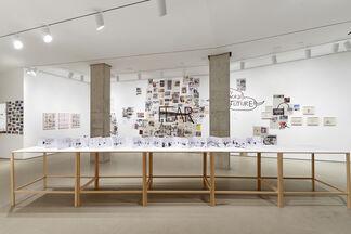 Dan Perjovschi: Time of Monsters, installation view
