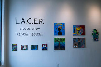 "Ewkuks presents LACER Afterschool Programs: ""If I Were President..."", installation view"