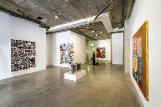 Justin Lieberman - Justin Lieberman Strongly Disagree: Stay at Home Version, installation view