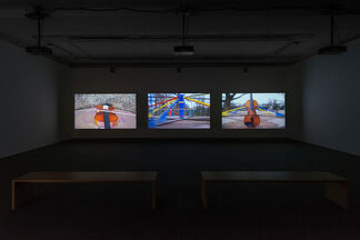 """Nevin Aladag - """"Traces"""", installation view"""