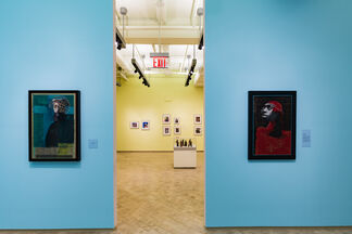 RODRIGUEZ CALERO: Urban Martyrs and Latter Day Santos, installation view