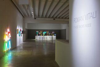 """Roman Vitali """"It also snows inside"""", installation view"""