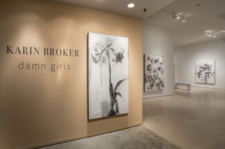 Karin Broker: damn girls, installation view