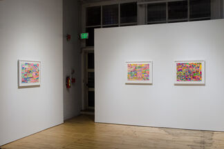 Jenny Cox: Like Logs, installation view