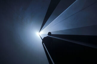 Anthony McCall - Solid Light Films and Other Works (1971-2014), installation view