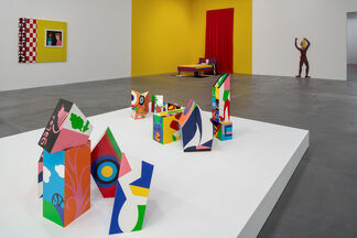 Teresa Burga: Aleatory Structures, installation view