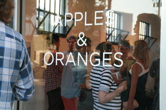 Apples & Oranges, installation view