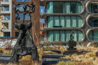 Barry Flanagan, installation view