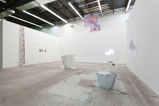 Pyramid Solitaire—Importing/Exporting Attitudes, installation view