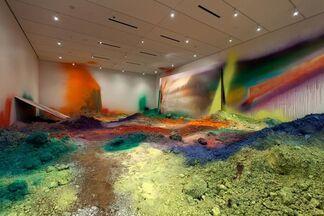 Katharina Grosse: WUNDERBLOCK, installation view