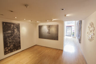 Lindy Lee: The Universal Record of the Flame, installation view