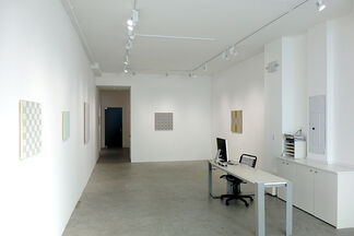 Stephen Beal: colored linens, installation view