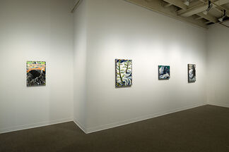 Lucinda Parker: Helens and Hood: Keep Safe Distance, installation view