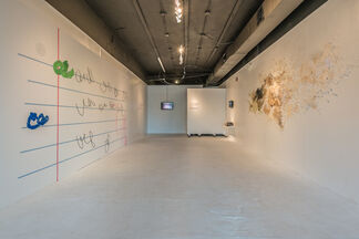 Talking to Hear Our Threads Rattle, installation view