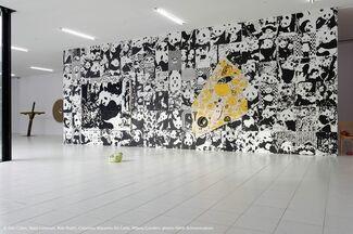 Three Blind Mice - Dan Colen / Nate Lowman / Rob Pruitt, installation view