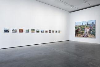 Liu Xiaodong: Painting as Shooting, installation view