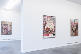 William Ludwig Lutgens, 'A Comedy of Humours', installation view