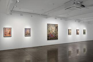 Peter Howson - Demokratia, installation view