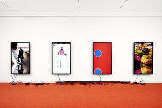 CORY ARCANGEL Be the first of your friends, installation view