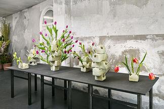 Tulip Vases, installation view
