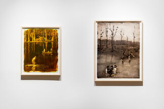 Les idiots dans la clairière / The idiots in the clearing, installation view