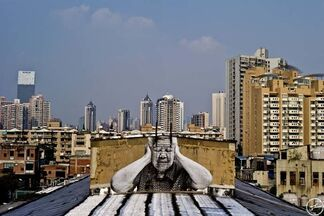 Wrinkles of the City, installation view