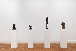 Unconventional Figures, installation view