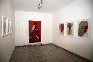 Red & Black, installation view