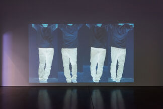 Bruce Nauman: Contrapposto Studies, I through VII, installation view