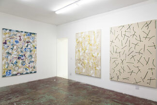 Playing Hands, installation view