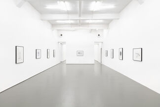 DRAWINGS 2000-2001, installation view