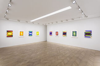 Loie Hollowell: Switchback, installation view