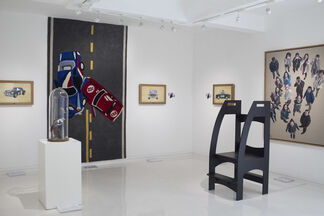 """Broken Bones & Bruises: An Occasional Mess of Moving Parts"" 骨肉之伤:身体部件的偶尔凌乱, installation view"