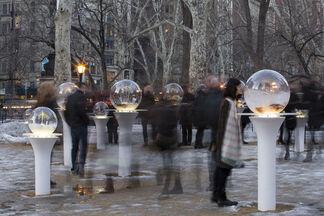 Paula Hayes: Gazing Globes, installation view