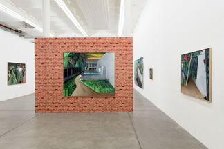 Julius HOFMANN - under der linden, installation view