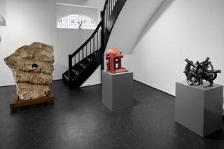 Tommerup Keramiske Vœrksted på besøg i Silkeborg, installation view